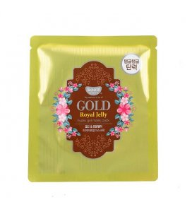 Гидрогелевая маска для лица с экстрактом мёда Koelf Gold & Royal Jelly Mask Pack, 30 гр, Petitfee
